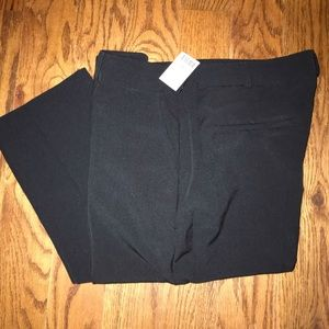 Straight leg trousers - Black